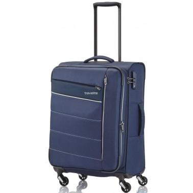 Чемодан Travelite Kite на 4 колесах S exp., синий 36 л, 1.9 кг, 37*54*20 см TL089947-20 (TL089947-20)