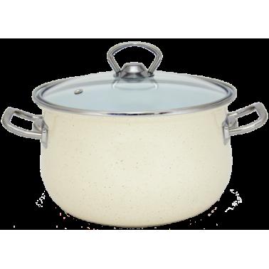 Кастрюля INFINITY Cream (6.5 л) 24 см(6367516)