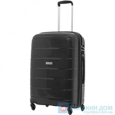Чемодан Travelite Mailand на 4 колесах M черный 74 л, 3.6 кг, 46*67*26 см TL573348-01 (TL573348-01)
