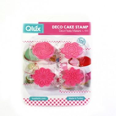 Формочки оттиски для печенья Qlux MIX (L-00553)