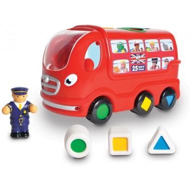Лондонский автобус Лео WOW Toys
