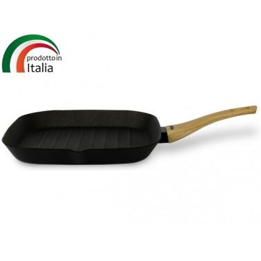 Сковорода TVS Le Giuste 28х28 см, гриль (DE730282910001)