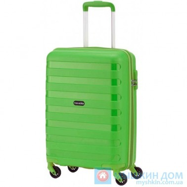 Чемодан Travelite Nova на 4 колесах S зеленый 37 л, 2.5 кг, 39*55*20 см TL074047-80 (TL074047-80)