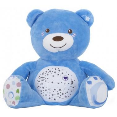 Мягкая музыкальная игрушка с проектором Funmuch Мишка с проектором