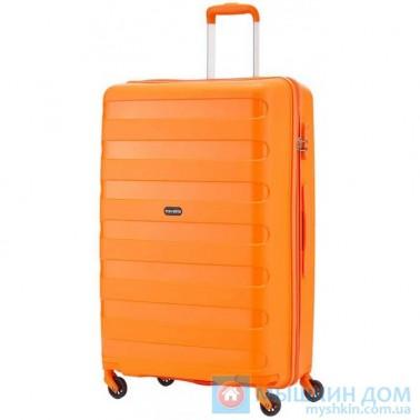 Чемодан Travelite Nova на 4 колесах М оранжевый 67 л, 3.2 кг, 45*66*26 см TL074048-87 (TL074048-87)