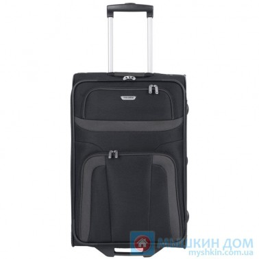 Чемодан Travelite Oriando на 4 колесах S черный 37 л, 3.2 кг, 37*53*20 см TL098487-01 (TL098487-01)