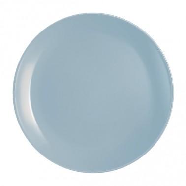 Тарелка LUMINARC DIWALI LIGHT BLUE /25 см/обед. (P2610)