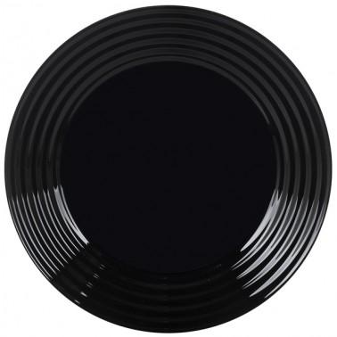 Тарелка LUMINARC HARENA BLACK /19 см /десерт. (L7613)