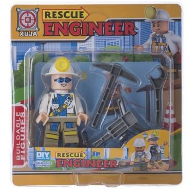 Игрушечный набор Space Baby Rescue Engineer фигурка и аксессуары 6 видов
