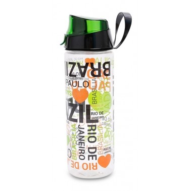 Бутылка д/воды пл. HEREVIN BRAZIL 0.75 л д/спорта (161506-005)