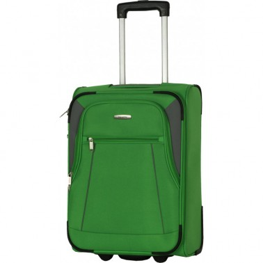 Чемодан Travelite Portofino на 2 колеса S зеленый 34 л, 2.6 кг, 36*52*20 см TL091907-80 (TL091907-80)