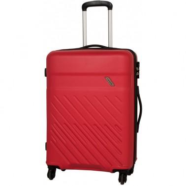 Чемодан Travelite Vinda на 4 колесах М красный 65 л, 3.6 кг, 46*66*26 см TL073848-10 (TL073848-10)