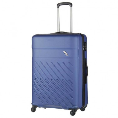 Чемодан Travelite Vinda на 4 колесах L синий 98 л, 4.2 кг, 51*76*30 см TL073849-21 (TL073849-21)