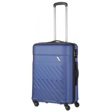 Чемодан Travelite Vinda на 4 колесах М синий 65 л, 3.6 кг, 46*66*26 см TL073848-21