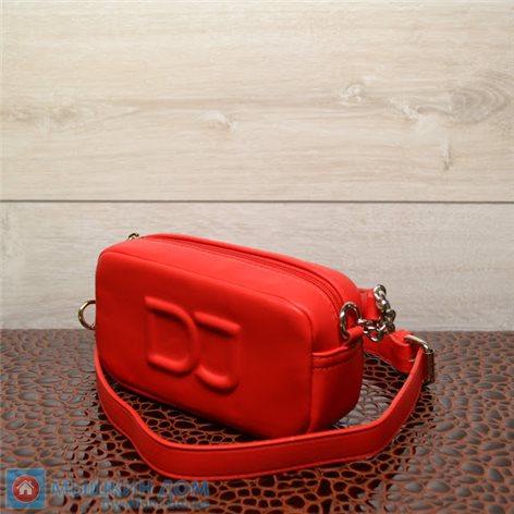 Сумка экошкіра David Jones CM6260-1 Red (19x11x4cm)