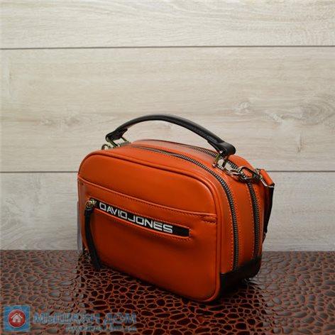 Сумка єкошкіра David Jones CM5462 Orange (23x16x9,5cm)