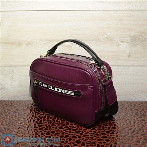 Сумка єкошкіра David Jones CM5462 Purple (23x16x9,5cm)