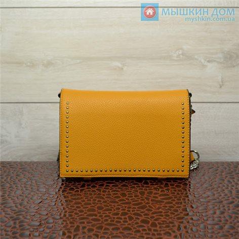 Сумка экошкіра G&T 66439 Yellow (22x15x4cm)