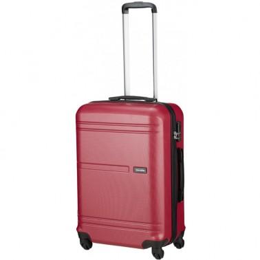 Чемодан Travelite Yamba на 4 колесах М розовый 62 л, 3.7 кг, 42*64*26 см TL075048-17 (TL075048-17)