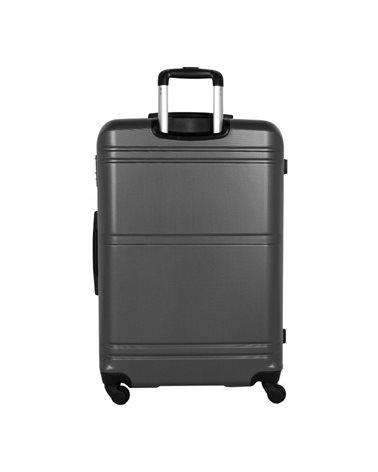 Чемодан Travelite Yamba на 4 колесах L серый 93 л, 4.5 кг, 48*74*29 см TL075049-04 (TL075049-04)