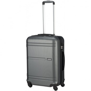 Чемодан Travelite Yamba на 4 колесах М серый 62 л, 3.7 кг, 42*64*26 см TL075048-04 (TL075048-04)