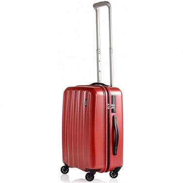Чемодан Lojel Essence на 4 колесах S красный 39 л, 2.5 кг, 37*55*23 см Lj-CF1366S_R (Lj-CF1366S_R)