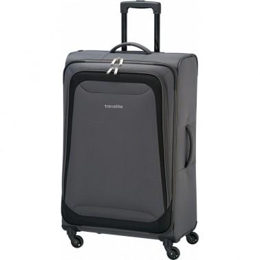 Чемодан Travelite Naxos 59 на 2 колеса L серый 91 л, 3.7 кг, 47*75*28 см TL590049-04 (TL590049-04)