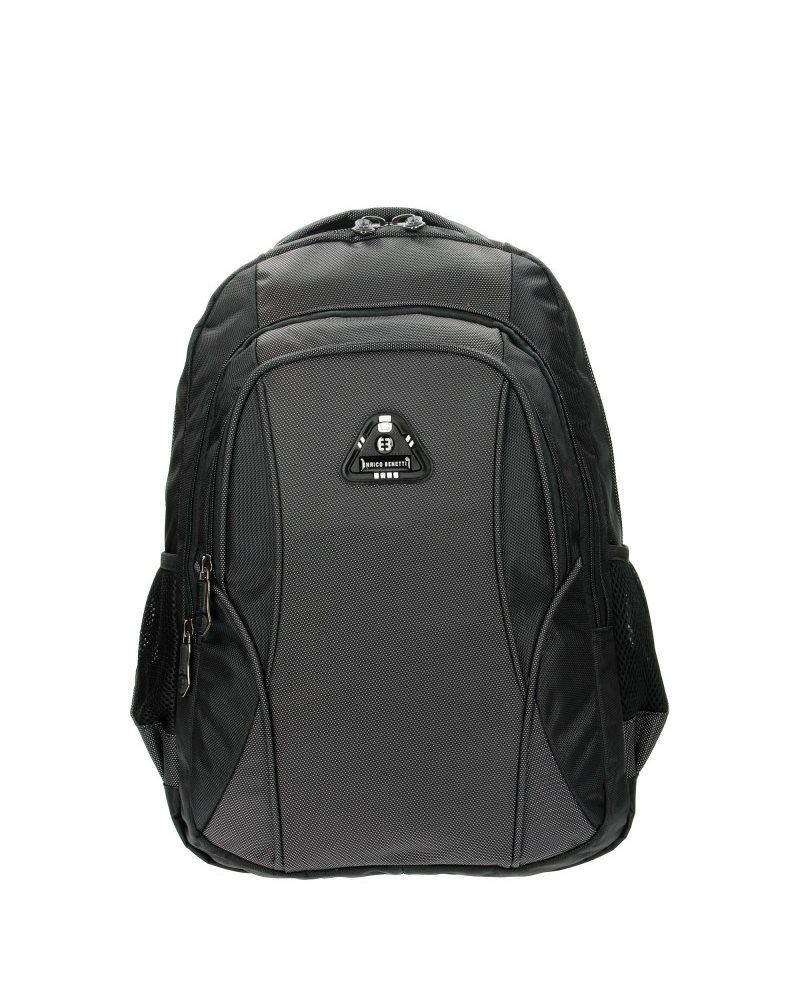 Рюкзак Enrico Benetti Barbados с отделом для ноутбука 17' черный, 39 л, 33*45*26 см Eb62011 001 (Eb62011 001)
