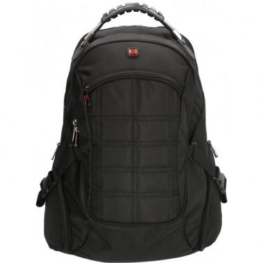 Рюкзак Enrico Benetti Cornell с отделом для ноутбука 13' черный, 39 л, 35*50*22.5 см Eb47181 001 (Eb47181 001)