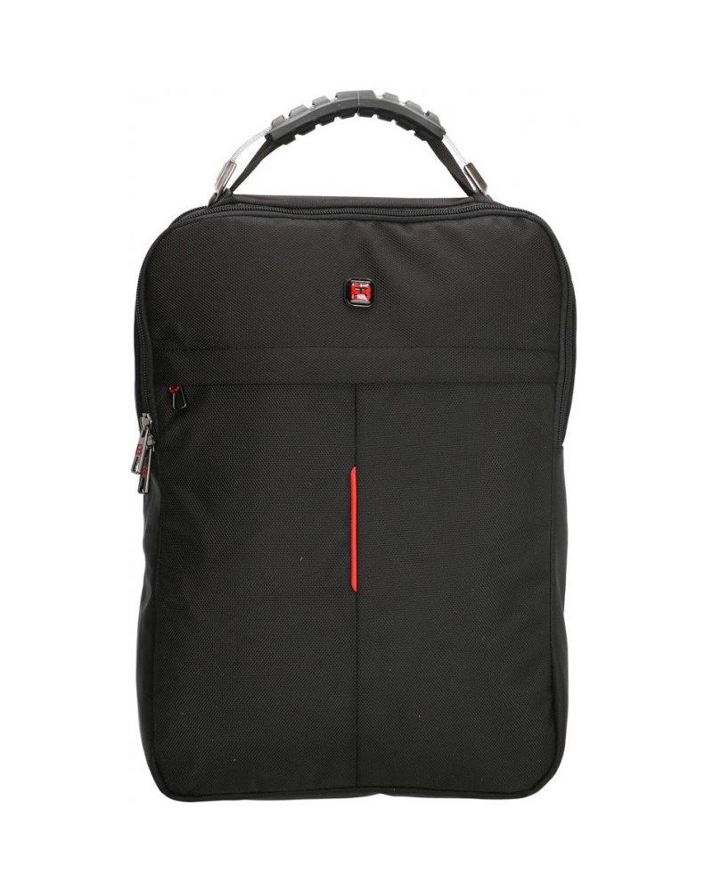 Рюкзак Enrico Benetti Cornell с отделом для ноутбука 14' черный, 13 л, 29.5*41.5*10.5 см Eb47182 001 (Eb47182 001)