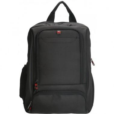 Рюкзак Enrico Benetti Cornell с отделом для ноутбука 15.6' черный, 30 л, 33*45*20 см Eb75004 001 (Eb75004 001)