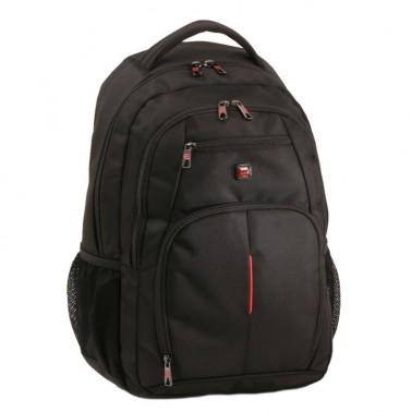 Рюкзак Enrico Benetti Cornell с отделом для ноутбука 17' черный, 37 л, 33*48*24 см Eb47082 001 (Eb47082 001)