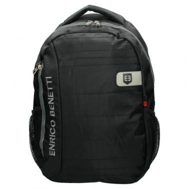 Рюкзак Enrico Benetti Montserrat с отделом для ноутбука 15.6' черный, 25 л, 31*45*18 см Eb47070 001 (Eb47070 001)