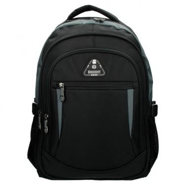 Рюкзак Enrico Benetti Sevilla с отделом для ноутбука 15.6' черно-серый, 34 л, 32*44*24 см Eb62027 614 (Eb62027 614)