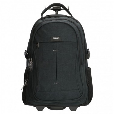 Рюкзак Enrico Benetti Sydney с отделом для ноутбука 17' черный, 61 л, 35*58*30 см Eb47169 001 (Eb47169 001)