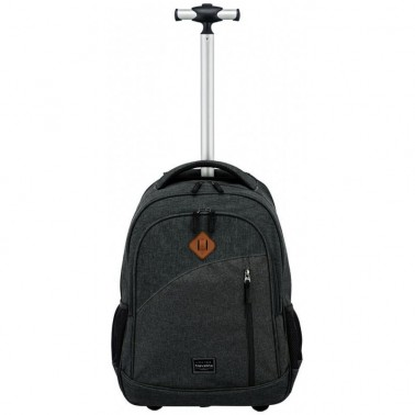 Рюкзак Travelite Basics на колесах серый 29 л, 1.9 кг, 34*47*20 см TL096309-05 (TL096309-05)