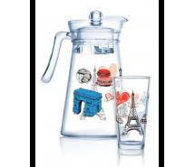 Jugs, decanters, sets